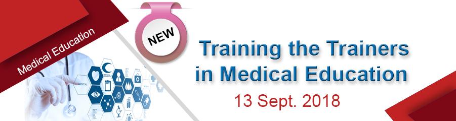 برنامج تدريب المدربين في... - Training the Trainer in Medical Education