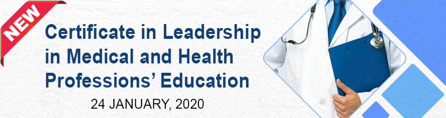 Certificate in Leadership in Medical and Health... -
