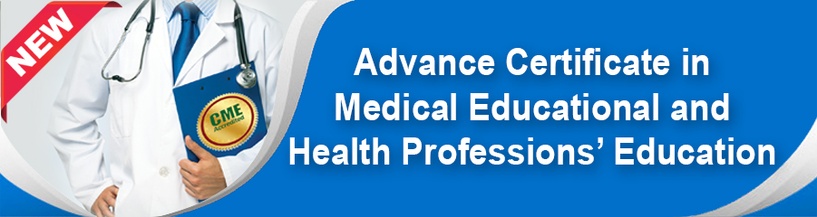 Advanced Certificate in Medical Education and... -
