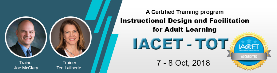 IACT-TOT - Instructional Design and Facilitation for Adult...